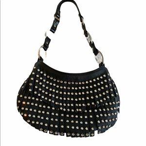 Exquisite Raviani RARE Sworoski Crystal Fringe Bag